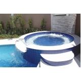 construção de piscina em alvenaria Santa Isabel