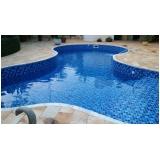 construção de piscina para residência Santos