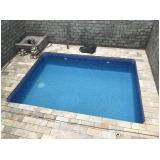 construção de piscina sob medida Guarujá