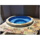 construção de piscinas aquecida pequena valor Santos