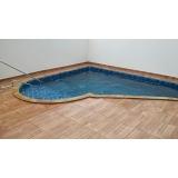 construção de piscinas aquecida pequena Santos