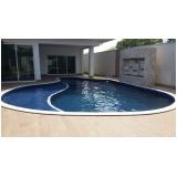construção de piscinas de alvenaria