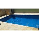 construção de piscinas de vinil valor Santos