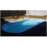 construção de piscinas fibra valor Suzano