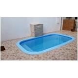 construção de piscinas fibra Poá