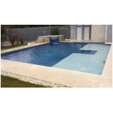 construção de piscinas para residência valor São Sebastião