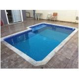 construção de piscinas vinil valor Santos