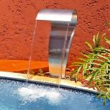 onde tem retorno de piscina residencial Mongaguá