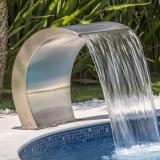 onde tem retorno piscina inox São Sebastião
