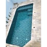 orçamento de construção de piscinas de vinil Santa Isabel