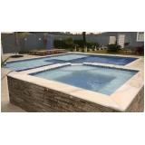 orçamento de construção de piscinas em alvenaria Santa Isabel