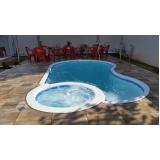orçamento de construção de piscinas fibra Santa Isabel