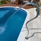retorno de piscina residencial
